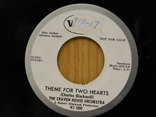 Craven House Orch 45 Theme for Two Hearts bw Phantom Riders   Vee Jay VG++ inst