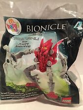 Mcdonald's Happy Meal Toy Bionicle Mistika Toa Tahu lego figure #4 2008. NIP