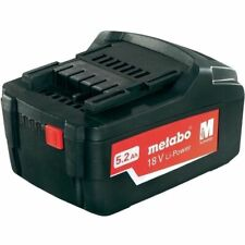 Metabo 18V 5.2ah Li-Power Battery for cordless tools 321000350 FREE DELIVERY