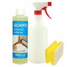 SCHIFO 500 ml Schimmelentferner Set Schimmel Entferner Antischimmel mold remover