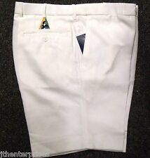 Bowls Australia Approved Flexi Waist Lawn Bowls SHORTS CREAM 110, 115, 125 ONLY