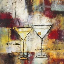 Jane Bellows Martini - Shaken not Stirred Poster Kunstdruck Bild 60x60cm