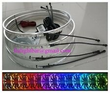 IP68 RGB brightest one Bluetooth APP control Illuminated LED Wheel Ring light
