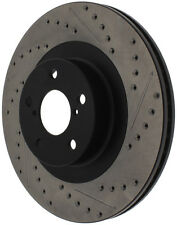 StopTech Sport Drilled/Slotted Disc fits 2001-2008 Subaru Impreza Forester Outba
