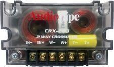 300 Watts 2 Way Crossover Passive Car Audio Speaker Tweeter Crx-203 Audiopipe