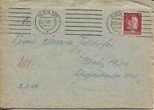 Besetzung 2. Weltkrieg Ukraine seltener Rucksack-Brief 1943 mit Inhalt (B06550)