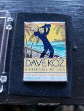 Music Fest Lapel Pin David Koz & Friends at Sea 2016 Limited Edition Jazz Enamel