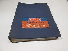 Catalogo parti di Ricambio originale Fiat 124 Special anno 1972  [6095.16]