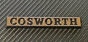 Reproduction Chrome Cosworth Badge Small X 1
