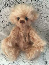 BUTTERSCOTCH KAYCEE BEARS LIMITED EDITION MOHAIR DESIGNED BY KELSEY CUNNINGHAM