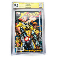 X-Force #1 CGC 9.6 Signature Series Signed by Rob Liefeld