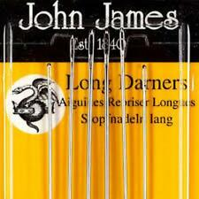 LONG DARNERS NEEDLES SIZE 3-9 PACK OF 6