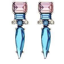 Blue Imitation Gemstone Drop Earrings Party Unique Earrings ed00875b