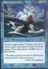 MTG: Denying Wind - Blue Rare - Prophecy - PCY - Magic Card