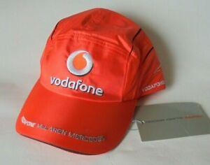 McLaren Mercedes Alonso Hamilton Vodafone Official Baseball Cap 2007 New