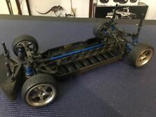 Team Associated TC4 roller with aluminum wheels and tires
