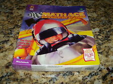 Math Ace Grand Prix Edition (Mac, 1995) New and Sealed in box