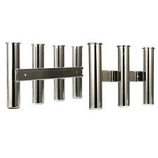 3 & 4 Rod Rack 316 Stainless Steel Mirror Fishing Rod Holder Amrine-made Esa