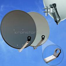 Sat Schüssel 90 cm Satellitenschüssel Sat Spiegel DIGITAL Antenne 4K Ultra HD+3D