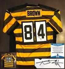 Pittsburgh Steelers Antonio Brown Signed Jersey Beckett BAS COA