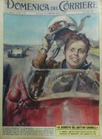 DOMENICA DEL CORRIERE N.29 1961 BAGHETTI