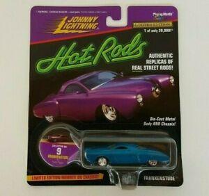 Johnny Lightning Hot Rods Blue FRANKENSTUDE No. 9 Die-Cast 1997 Studebaker *New