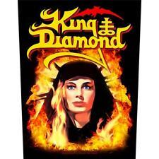 OFFICIAL LICENSED - KING DIAMOND - FATAL PORTRAIT BACK PATCH BLACK METAL