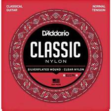 D'Addario EJ27N Classic Nylon Classical Guitar Strings Normal Tension 28-43