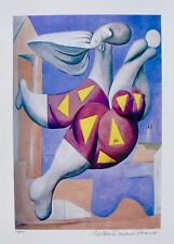 Pablo Picasso BATHER WITH BEACH BALL Estate Signed & Numbered Small Giclee Art