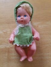 "Vintage 5"" Uneeda Doll Co. Drinker Doll Marked Hong Kong 1967"