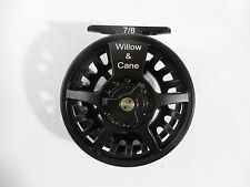 Fly Fishing Reel #7/8 - Willow and Cane - TRAVEL ROD - NEW - STEELHEAD _ SALMON