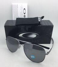 Polarisiert Oakley Sonnenbrille Elmont L OO4119-0660 Kabel Aviator mit Schwarz