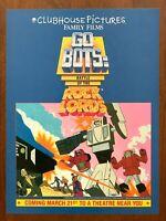 1986 GoBots Rock Lords Movie Authentic Vintage Print Ad/Poster Pop Art Décor
