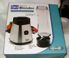 Epica Personal Blender with Take-Along Bottle New