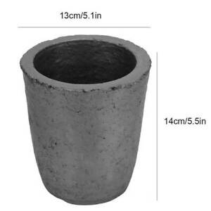 Graphite Crucible Cup Furnace Torch Foundry Crucible Melting Casting Gold Silver