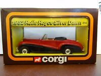 Die-Cast Corgi 814 Rolls Royce Silver Dawn, 1952 Cars of the Fifties Not Bentley