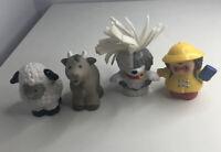 FisherPrice Little People Animals Goat/Sheep/Dog/Person 2001/2002/2006 (97)