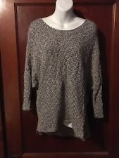 American Apparel Chunky Unisex Sweater One Size Batwing Oversized