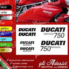 Series Adhesives Stickers Compatible DUCATI 750 Super Sport Desmodue