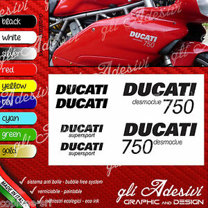 Series Adhesives Stickers Compatible DUCATI 750 Super Sport Desmodue