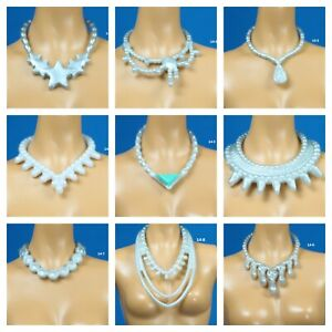 Barbie Fashionistas Set 14 Choose Pick 1 Silver Color Necklace for 1/6 Doll