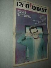 EN ATTENDANT 16 (4/79) ELVIS COSTELLO FRANCE GALL SUPERTRAMP ANNEGARN RENAUD