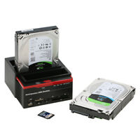 """All In 1 Dual Bay Docking Station Fit 2.5/3.5""""inch SATA+IDE HDD Docking Station"""