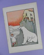 Una Geografia dell'Arca di Noè, Mabel dearmer ANTICO LIBRO stampa RIF. 3, orsi polari