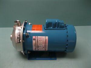 1 x 1-1/4-6 Goulds MCS Series 1MS1D4D0 Centrifugal Pump 3/4 HP Motor A14 (2938)
