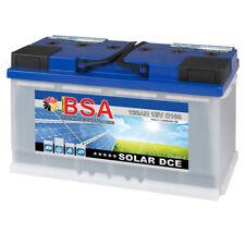 BSA Solar 12V 120Ah Traktion Stapler Hubwagen Hebebühne Batterie 100Ah