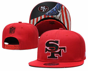 San Francisco 49ers #1.6 NFL CAP HAT New Era 59Fifty Snapback