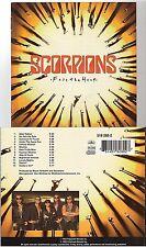 SCORPIONS face the heat CD ALBUM