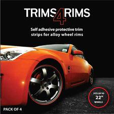 Trims4Rims 400106 Wheel Rim Protectors - Blue - Pack of 4
