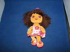 TY Beanie Baby Dora the Explorer Happy Birthday Girl Plush Doll 2010